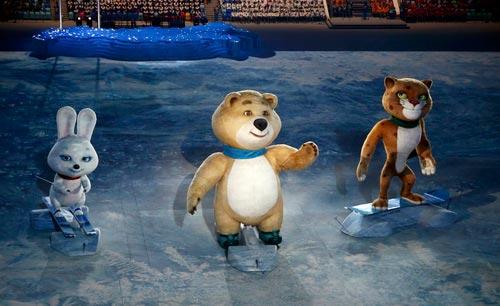 """""""Sự cố"""" tại lễ khai mạc Olympic Sochi 2014 - 7"""