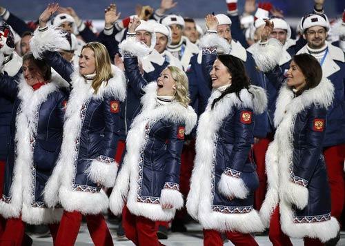 """""""Sự cố"""" tại lễ khai mạc Olympic Sochi 2014 - 3"""