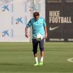 Bóng đá - Video: Neymar phô diễn kỹ thuật trên sân tập