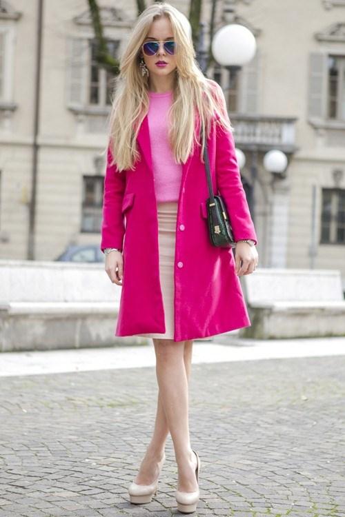 Mặc màu hồng thế nào cho ngày Valentine? - 15