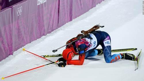 Những cú ngã đau tại Olympic Sochi - 2