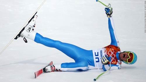 Những cú ngã đau tại Olympic Sochi - 3