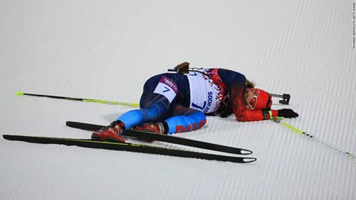 Những cú ngã đau tại Olympic Sochi - 5