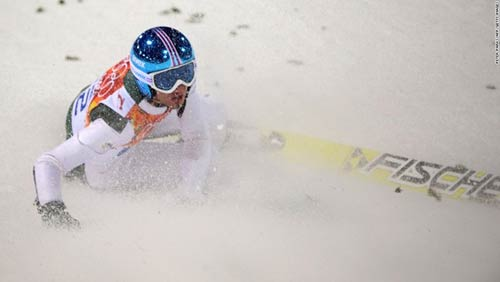 Những cú ngã đau tại Olympic Sochi - 9