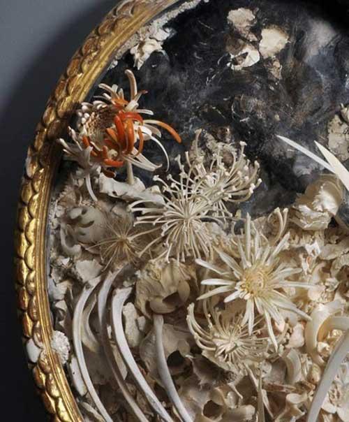 Những cành hoa từ xương động vật chết - 8