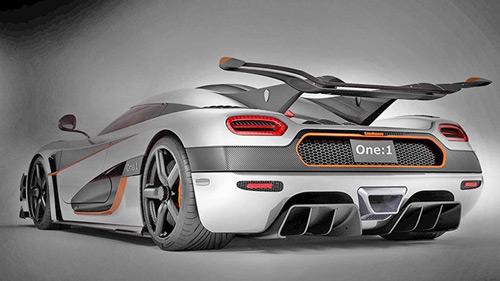 Koenigsegg One:1, kẻ đánh bại Bugatti Veyron lộ mặt - 1