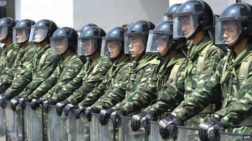 Cảnh sát Thái Lan bắt một lãnh đạo biểu tình - 1