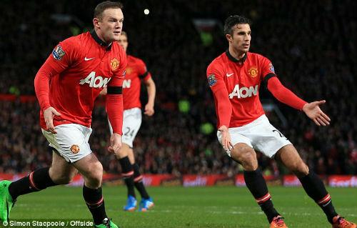 Thống kê: Rooney, Persie như 2 kẻ xa lạ - 1
