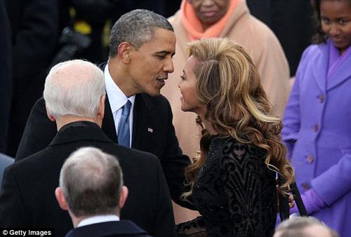 Rộ tin đồn ca sỹ Beyonce yêu T.T Obama - 1