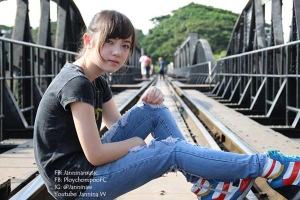 Hotgirl Thái hát 'Bèo dạt mây trôi' đáng yêu - 7