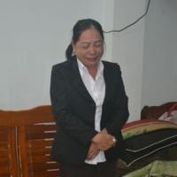 Nữ kế toán trưởng bật khóc khi bị bắt