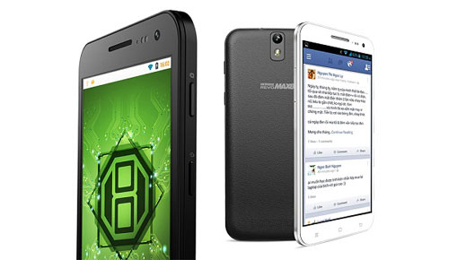 HKPhone ra mắt Revo MAX8 8 nhân giá 6.950.000đ - 3