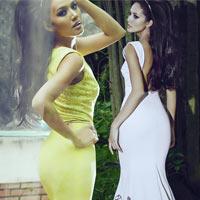 Chọn váy dạ hội cho nàng 1m65 cùng Quanh Đi