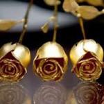 Thị trường - Tiêu dùng - 1.5 triệu đồng một bông hồng thật dát vàng