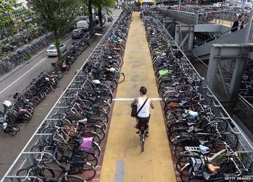 """Hà Lan thành """"thiên đường xe đạp"""" như thế nào? - 6"""