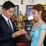 Ngân Khánh làm cô dâu của Minh Luân