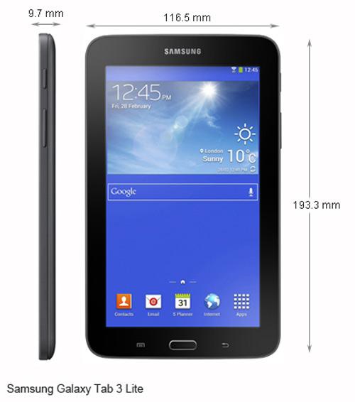 Samsung ra mắt Galaxy Tab 3 Lite giá rẻ 3,8 triệu đồng - 5