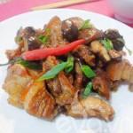 Ẩm thực - Thịt ba chỉ kho nấm đậm đà ngày rét