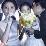 Ca nhạc - MTV - Ngô Quỳnh Anh ngại ngùng hôn chú rể