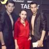 Yến Trang nổi bật bên dàn mẫu nam Thái Lan