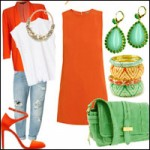 Thời trang - Gợi ý cách diện màu cà-rốt cho mùa xuân hè