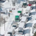 Tin tức trong ngày - Ảnh: Bão tuyết kinh hoàng tấn công Nhật Bản