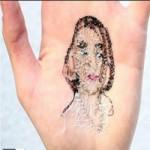 Phi thường - kỳ quặc - Video: Khâu tranh vào lòng bàn tay