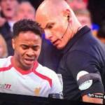 Bóng đá - Howard Webb sững sờ vì bị Sterling sờ ngực