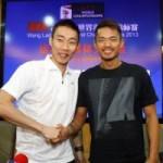 """Thể thao - Lin Dan """"song kiếm hợp bích"""" với Lee Chong Wei"""
