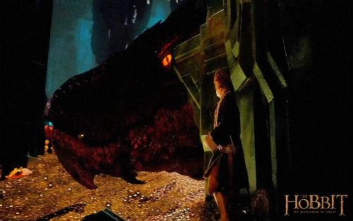 Tiết lộ rồng lửa Smaug trong The Hobbit 2 - 11
