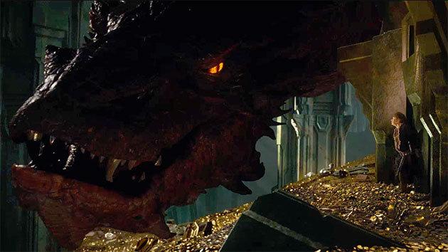 Tiết lộ rồng lửa Smaug trong The Hobbit 2 - 12