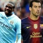 Bóng đá - Yaya Toure vs Busquets: Cuộc chiến bản lề