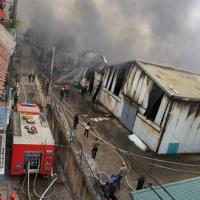 Cháy ở làng lụa Vạn Phúc: Thiệt hại hàng trăm tỷ đồng