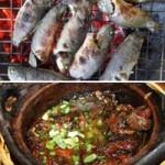 Ẩm thực - Kho tương cá rô đồng nướng