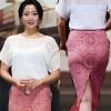 Kim Hee Sun mặc váy xuyên thấu mờ ảo