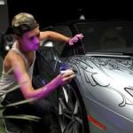Ô tô - Xe máy - Tuyệt phẩm Aventador Roadster sơn bằng tay