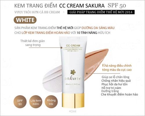 10 tính năng gây sốt của CC Cream SAKURA - 1