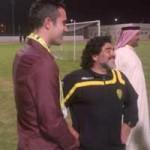 Bóng đá - Persie đọ kĩ thuật với Maradona