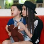 Ca nhạc - MTV - Quỳnh Anh dẫn con trai xem Tim tập nhảy