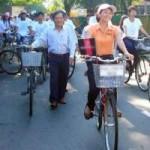 Tin tức trong ngày - Khi công chức Hội An đi làm bằng xe đạp