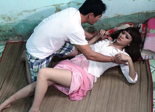 Quốc Thái hãi hùng cảnh tự tử trong phim mới - 2