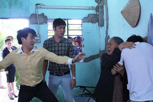 Quốc Thái hãi hùng cảnh tự tử trong phim mới - 3