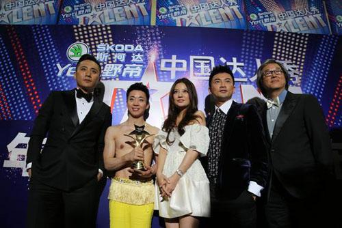 """""""Ông vua nhào lộn"""" lên ngôi China Got Talent - 4"""