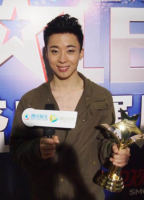 """""""Ông vua nhào lộn"""" lên ngôi China Got Talent - 2"""