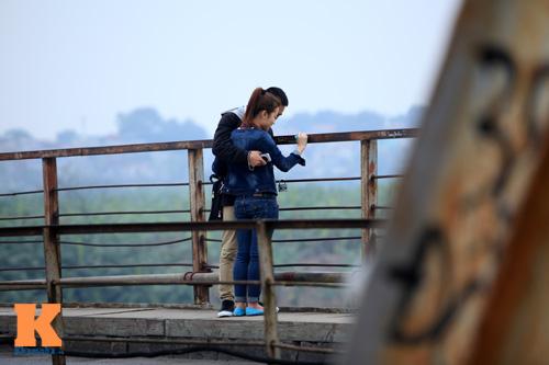 """Cận cảnh những """"vết lở loét"""" trên cầu Long Biên - 13"""