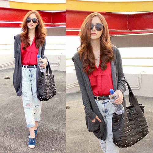 Hotgirl Indonesia mặc gì dạo phố? - 1