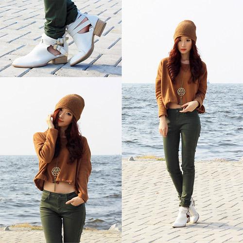 Hotgirl Indonesia mặc gì dạo phố? - 12