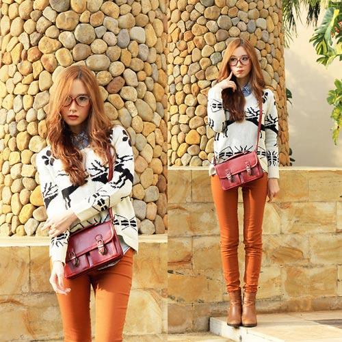 Hotgirl Indonesia mặc gì dạo phố? - 13