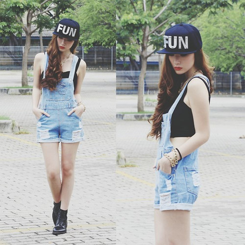 Hotgirl Indonesia mặc gì dạo phố? - 15