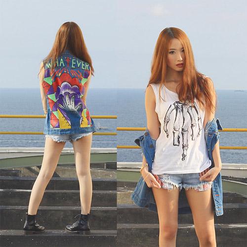 Hotgirl Indonesia mặc gì dạo phố? - 17